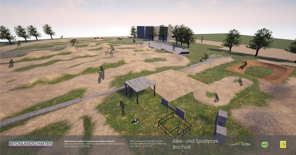 Deutsch Sport Und Bikepark Bocholt Betonlandschaften