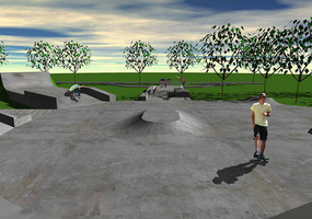 Skatepark Offenburg-Nord Animation