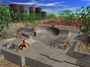 Skatepark Bouknadel, Morocco