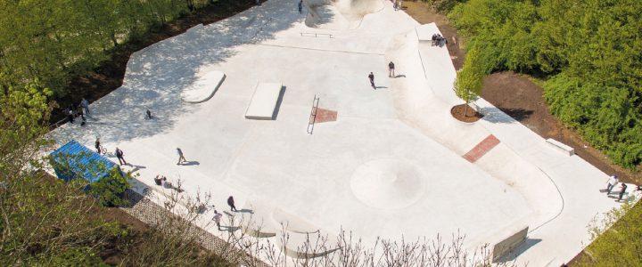Skate- & Bikepark Muelheim, Germany