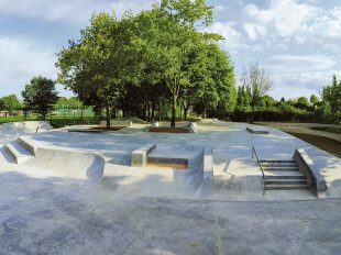 Skatepark Freiburg, Germany