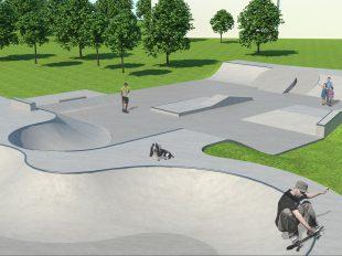 Bike and Skatepark in Ingelheim, Germany