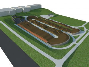 BMX Race track in Stuttgart