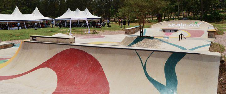 Skatepark Kigali Rwanda, Africa