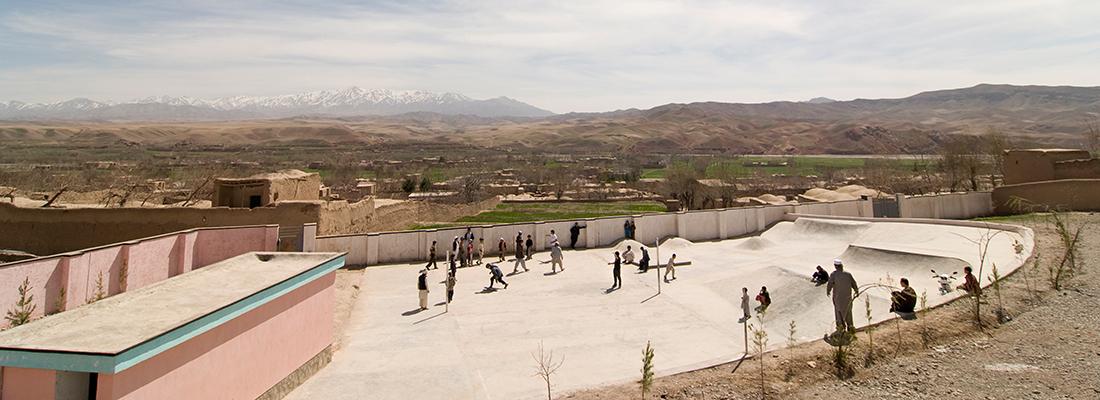 Betonlandschaften Slider Skatepark Afghanistan