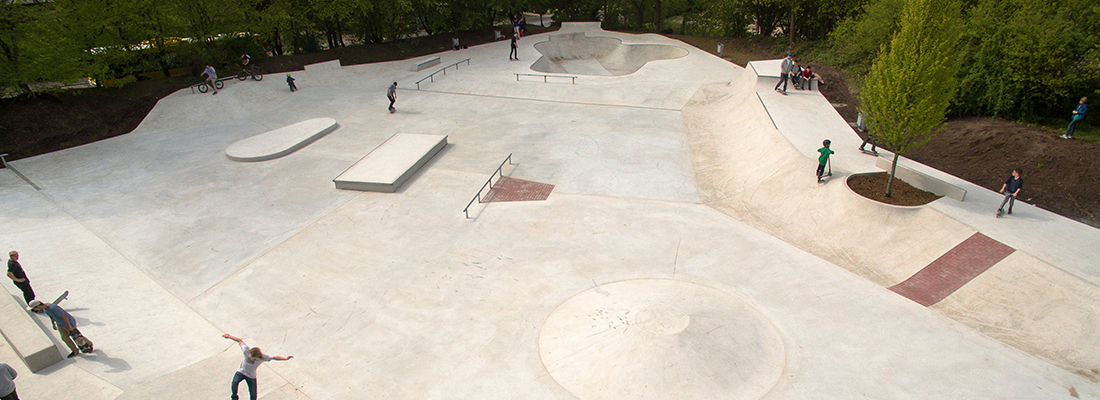 Skatepark Muelheim, Germany