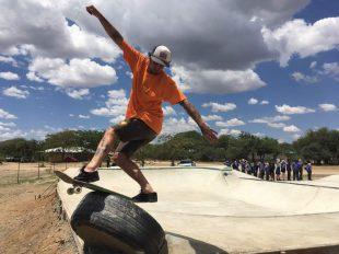 Skate park Windhuk, Namibia