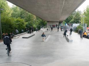 Skateparkrenovierung Friedrichshafen