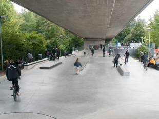 Skateparkrenovation Friedrichshafen