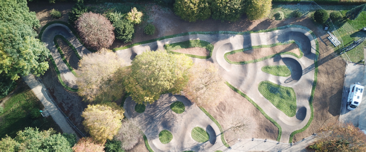 A pump track for Mettingen