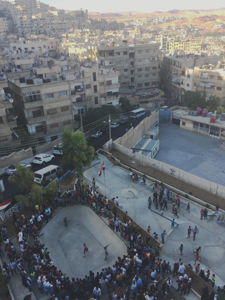 Damaskus-von-oben