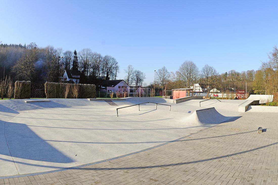 Skatepark Iserlohn in der Läger Betonlandschaften 1