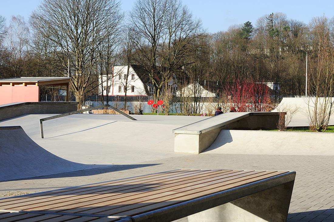 Skatepark Iserlohn in der Läger Betonlandschaften 2