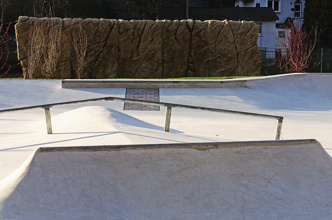 Skatepark Iserlohn in der Läger Betonlandschaften 6