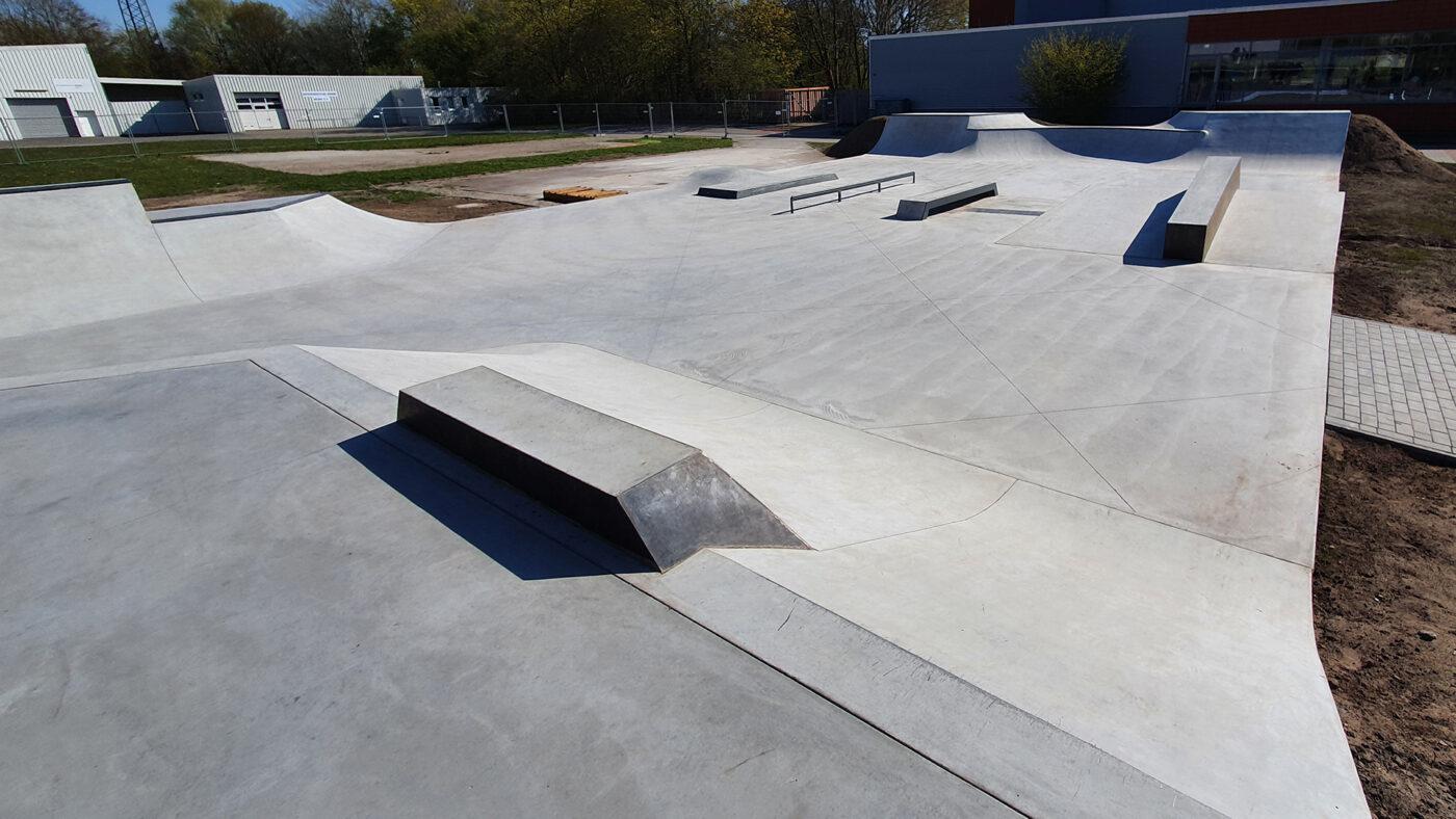Brake Skatepark - sicherheitsteche Abnahme