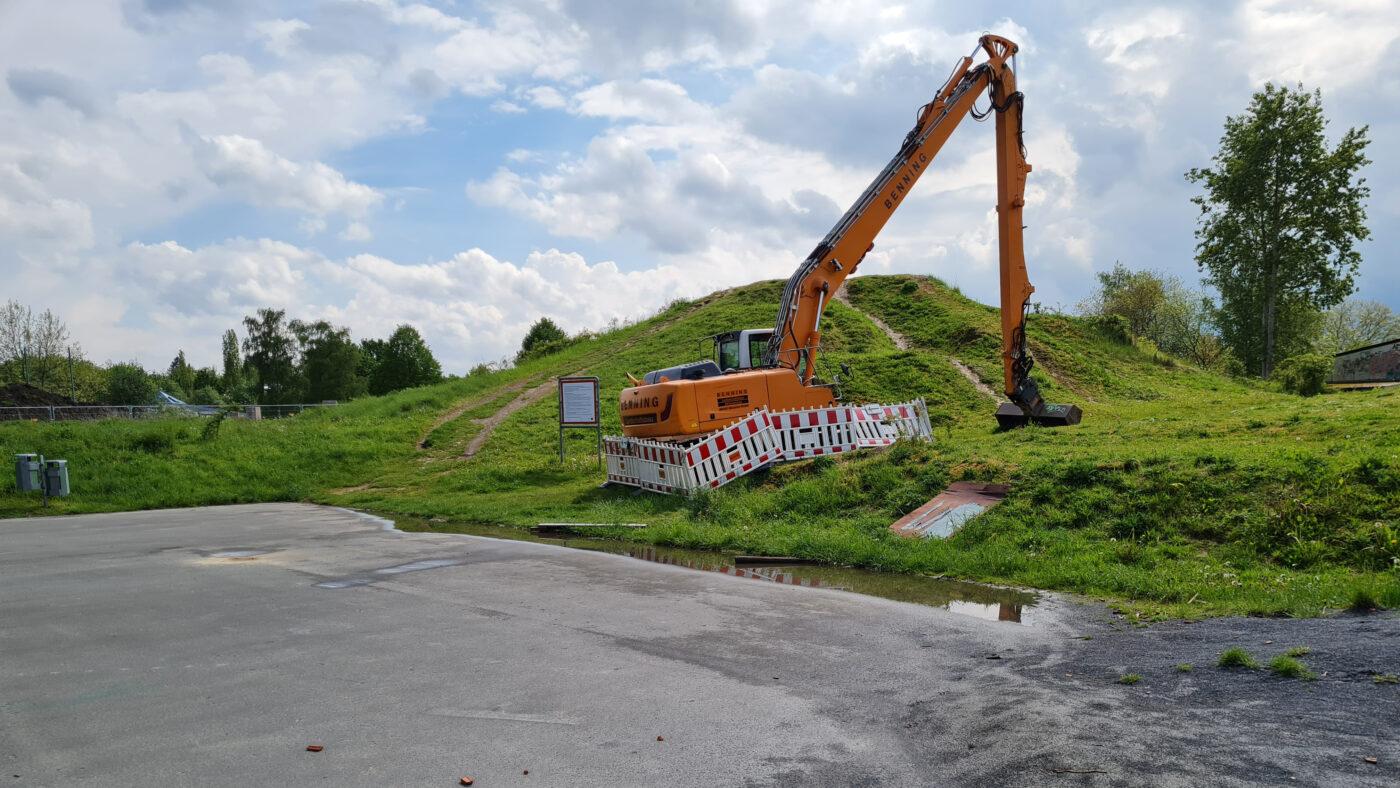 Dortmund Hombruch GaLa-Bau - Baufortschritt 210601