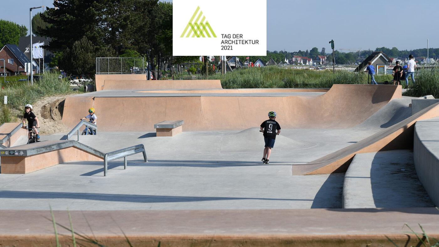 Skatepark Scharbeutz - Tag der Architektur 2021