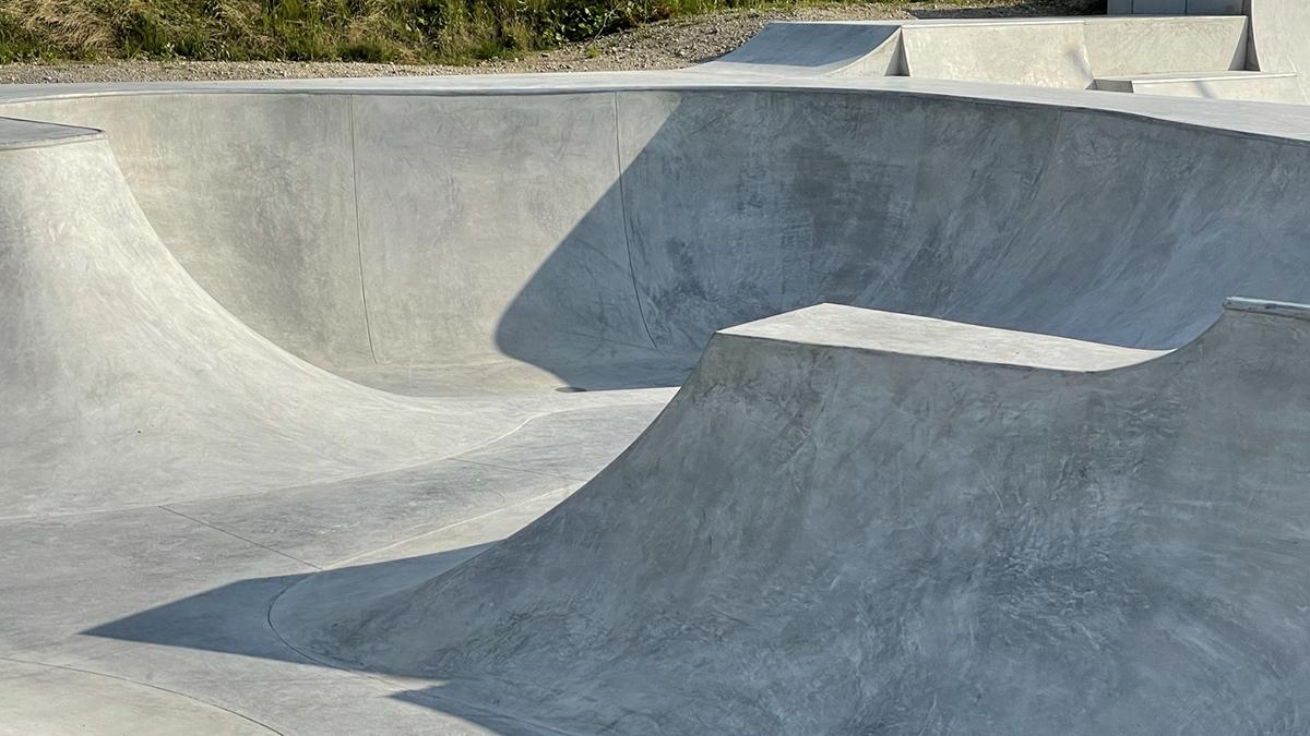 Unterschleißheim Skatepark Baufortschritt 210729