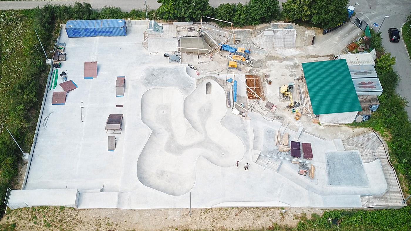 Unterschleissheim Skatepark Baustellenupdate 210810