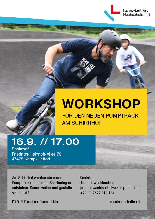 Kamp Linfort Workshop Flyer