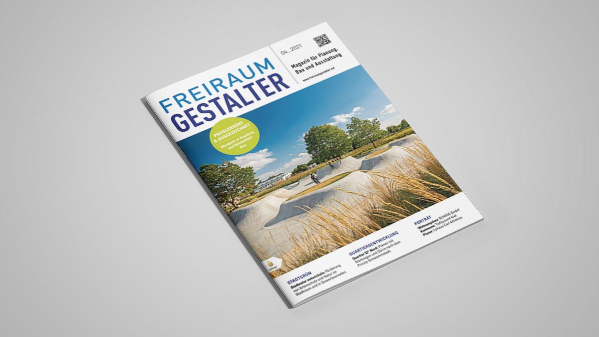 Veröffentlichung Freiraumgestalter 2021-04 Reesekaserne Augsburg Cover